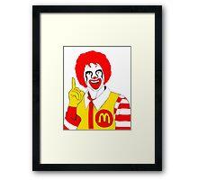 Ronald Mc Manson Framed Print