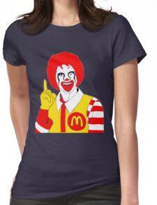 Ronald Mc Manson Womens Fitted T-Shirt