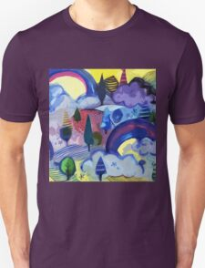 Dreamland - Landscape with Rainbows Unisex T-Shirt