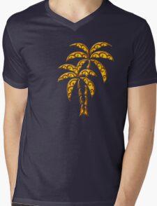Palm Tree, Tattoo Style, Beach, Surf, Playa,  Mens V-Neck T-Shirt