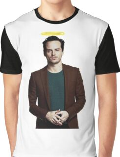Andrew Scott with a halo Graphic T-Shirt