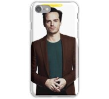Andrew Scott with a halo iPhone Case/Skin