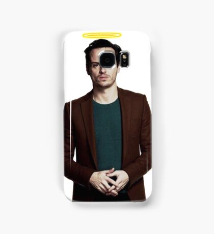 Andrew Scott with a halo Samsung Galaxy Case/Skin