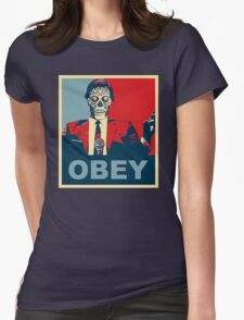 They Live - Obey Womens Fitted T-Shirt
