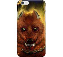 Fire Wolf iPhone Case/Skin