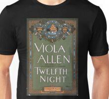 Performing Arts Posters Viola Allen as Viola in Shakespeares comedy Twelfth night 1397 Unisex T-Shirt