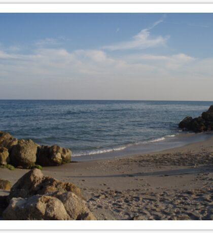 Beach Walk  Sticker