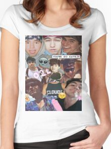 Cloud Kid Women's Fitted Scoop T-Shirt