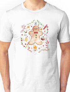 Christmas Gingerbread Unisex T-Shirt