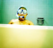 Snorkel and Mask by YoPedro