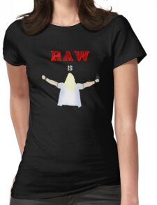 RAW is JERICHO! | Y2J Womens Fitted T-Shirt