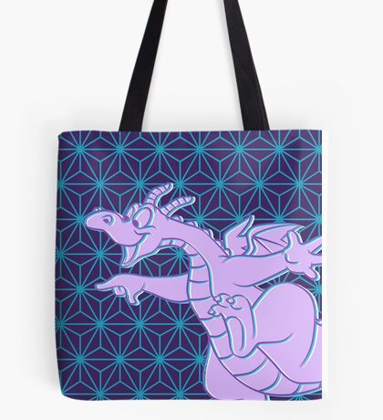 SSE Navy Figment Tote Bag