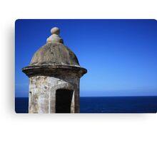Blue Tower Canvas Print