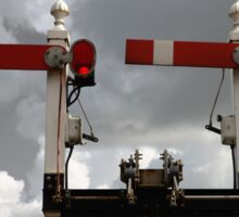 Old Railway Signal Colour Pop Sticker