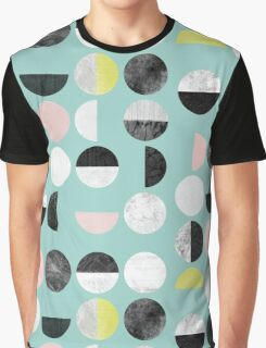 Half Circles Graphic T-Shirt