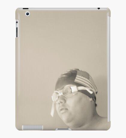 Swim Cap and Goggles iPad Case/Skin