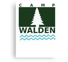 Camp Walden Canvas Print