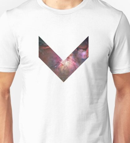 Orion Nebula Chevron Space Unisex T-Shirt