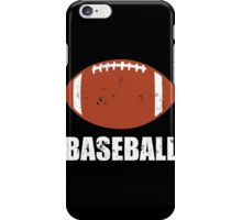 Football Baseball Troll iPhone Case/Skin