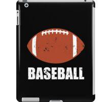 Football Baseball Troll iPad Case/Skin