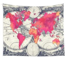 World map 10 Wall Tapestry