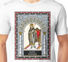 ST EDWARD THE CONFESSOR under STAINED GLASS Unisex T-Shirt