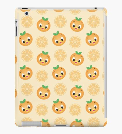 Little Orange Bird Pattern iPad Case/Skin