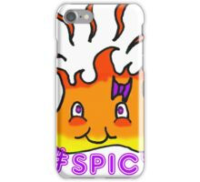 Too Hot To Handle Hashtag Spicy iPhone Case/Skin