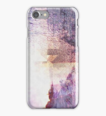 Abstract Lake iPhone Case/Skin