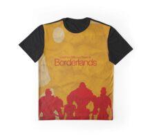 Minimalistic Borderlands Design Graphic T-Shirt