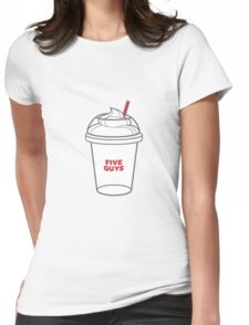 Five Guys Womens Fitted T-Shirt
