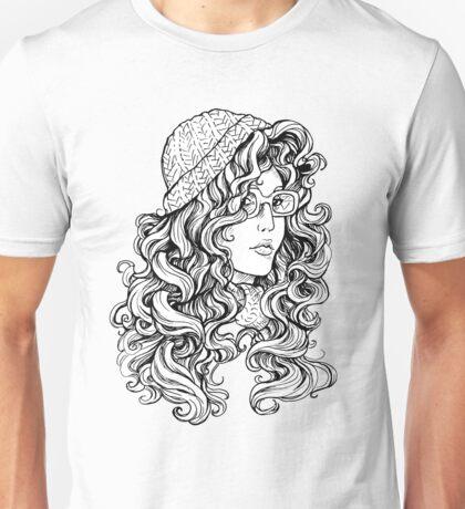 Curly Hair Unisex T-Shirt