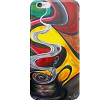 Ode to Coffee.. iPhone Case/Skin