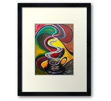 Ode to Coffee.. Framed Print