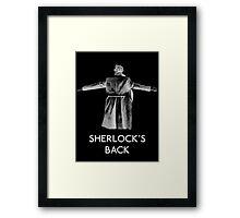 Sherlock's Back Framed Print