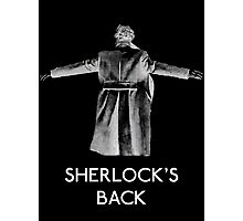 Sherlock's Back Photographic Print