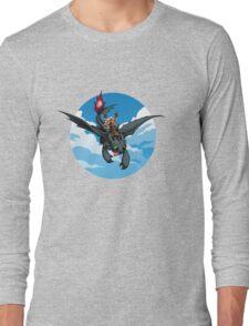 Toothless Targaryen Blue Long Sleeve T-Shirt