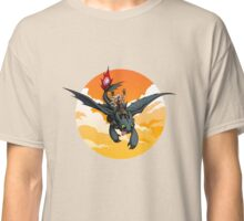 Toothless Targaryen Orange Classic T-Shirt