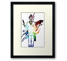 Agent Unicorn Framed Print
