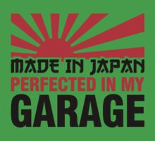 Made In Japan PERFECTED IN MY GARAGE (3) Kids Clothes