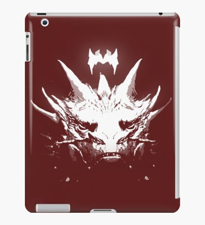 King Under the Mountain - Team Smaug iPad Case/Skin