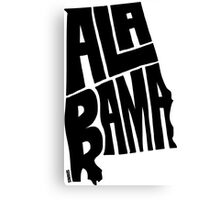 Alabama Canvas Print