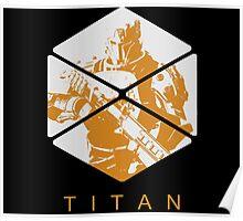 Destiny - Titan by AronGilli Poster