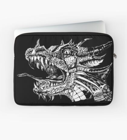 White Dragon Laptop Sleeve