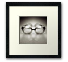 Safety Glasses Framed Print