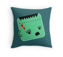 Frank (Ensteins Monster) Throw Pillow