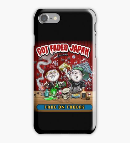 GOT FADED JAPAN PODCAST iPhone Case/Skin