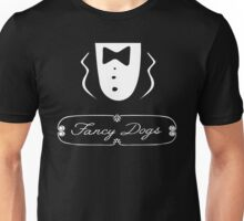 Fancy Dogs at a Sausage Party. Unisex T-Shirt