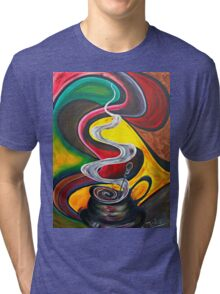 Ode to Coffee.. Tri-blend T-Shirt