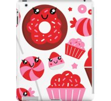 Sweet strawberry candy collection : for little Kitchen Girls iPad Case/Skin